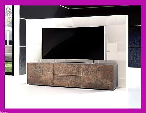 Mobile-TV Typ Pepsy Farbe Corten Eisen Rost: Amazon.de: Küche & Haushalt