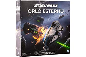 Asmodee Italia- Star Wars: Dobladillo Exterior Juego de Mesa ...