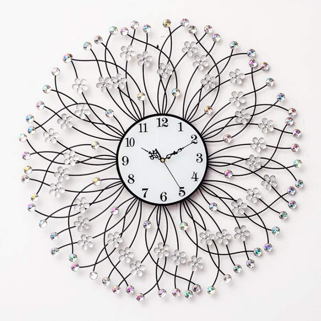 ウォールクロッククリエイティブリビングクォーツ時計シンプルな装飾ミュート時計アートウォールチャート SHWSM (Color : D) B07TMBD5SX D