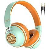 Active Noise Cancelling Headphones-SuperEQ S2 Bluetooth On Ear Headphones with CVC 8.0 Mic, Deep Bass, 25H Playtime, 40mm Dri