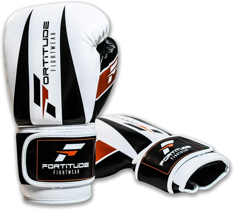 Le poin/çonnage de Sacs Le Kickboxing Fortitude Fightwear Gants de Boxe 12oz Gants de Boxe dentra/înement pour Le Sparring Boxing Gloves