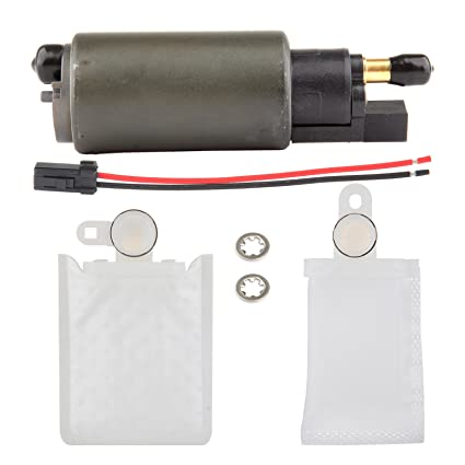 eccpp replacement for replacement for electric fuel pump, high performance  with installation kit strainer for