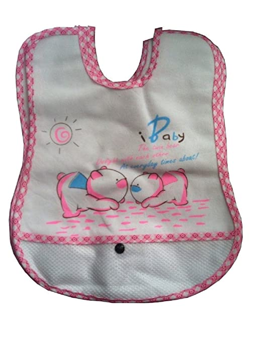 20 unidades Impermeable Bebé Baberos Recién Nacido Niños Niñas Niños ...