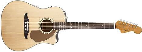 Fender 0968604021 Sonoran SCE Guitarra eléctrica natural con cabezal a juego