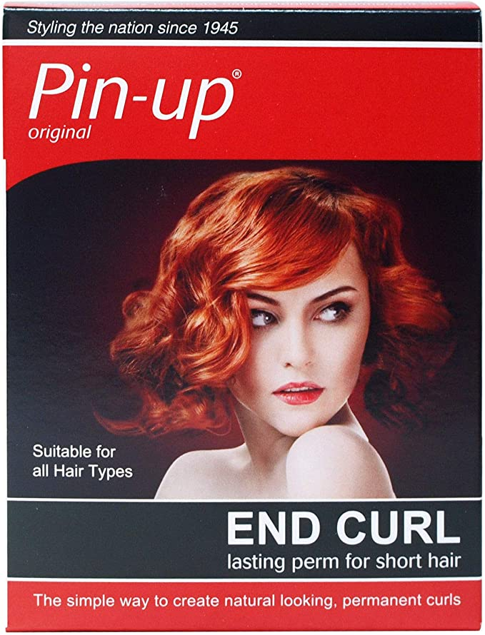 Pin Up End Curl Perm For Short Hair Amazon Co Uk Electronics