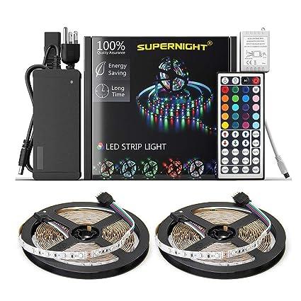 NEW 2018 LED Strip Lights Kit Non-waterproofu2013 32.8ft (10M) 600  sc 1 st  Amazon.com & Amazon.com: NEW 2018 LED Strip Lights Kit Non-waterproofu2013 32.8ft ...