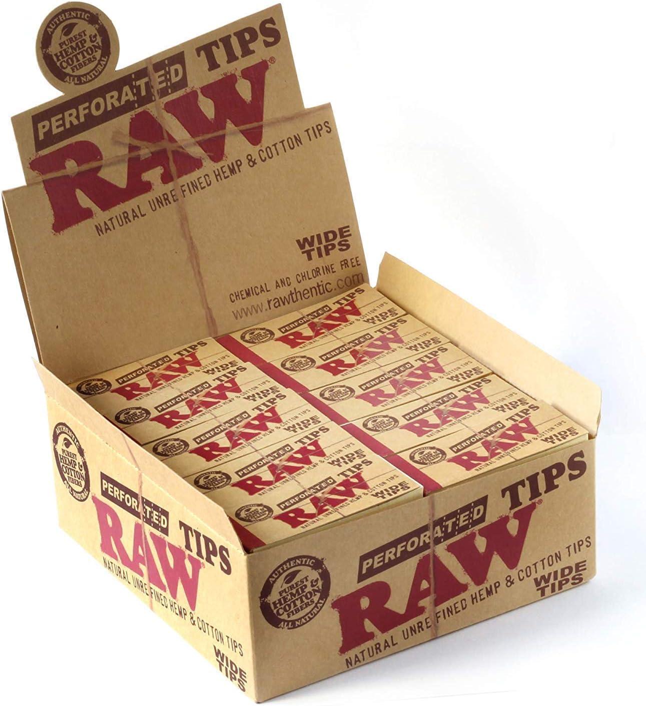 RAW Caja Entera precintada de filtros cáñamo y algodón Naturales ...