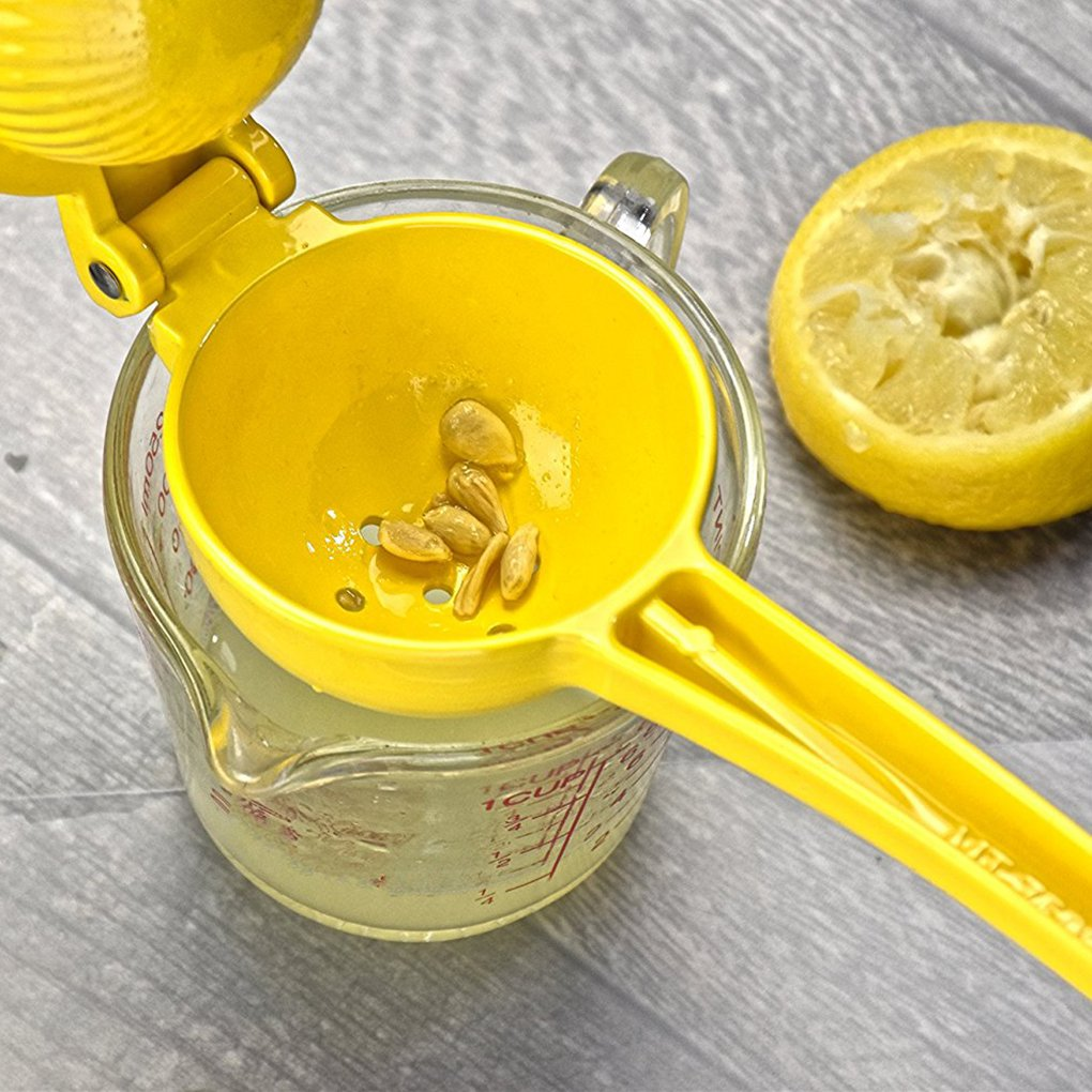 Level Presse-Citron Juicer en Alliage daluminium Orange Fruit Manuel Main Presse Presse Juicer 22x7.5cm