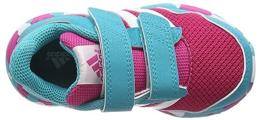 Adidas Snice 4 CF I, Zapatos (1-10 Meses) Unisex Bebé, Morado/Rosa/Rojo (Mornat/Eqtros/Brisol), 21 EU