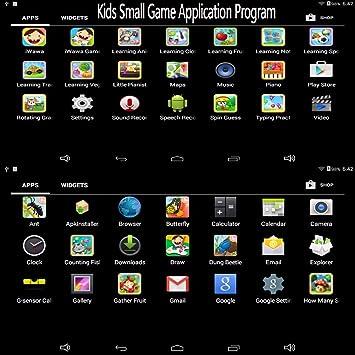 amazon com gimtvtion bdf 7 inch kids tablet google android 4 4 quad