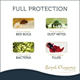 Deluxe 2 PC Bed Bugs Pillow Protector Set, Standard