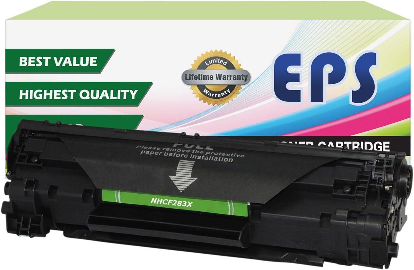 EPS Replacement 83X CF283X High Yield Toner for HP Laserjet Pro M225DN M225DW M201DW