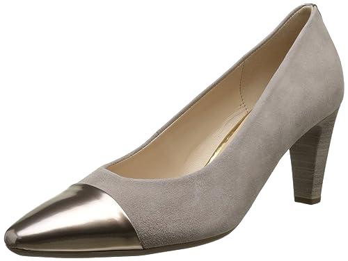 Fashion, Zapatos de Tacón para Mujer, Blanco (Ice +Absatz 61), 44 EU Gabor