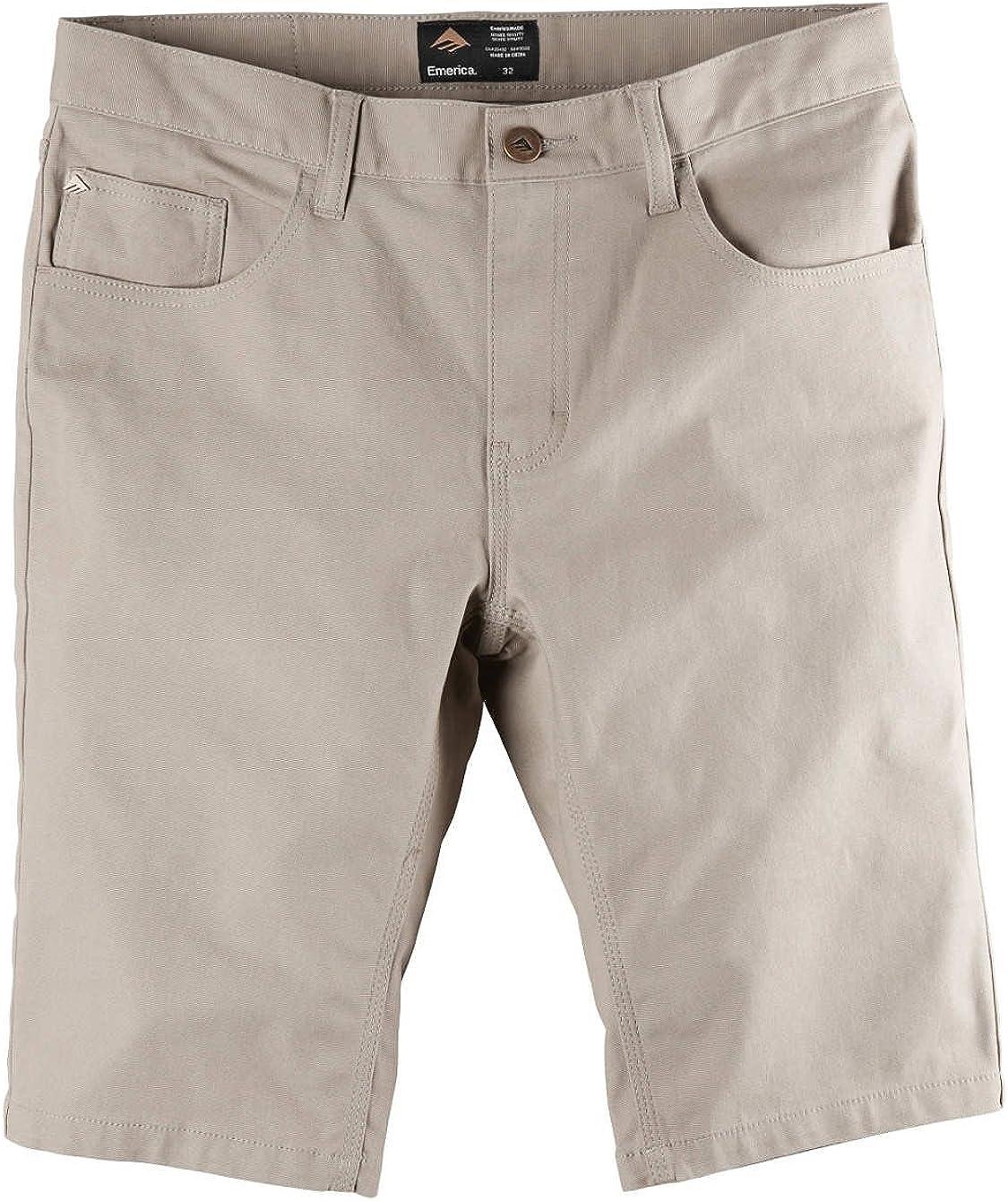 Emerica 6130002494 Mens Pure 5 Pocket Short