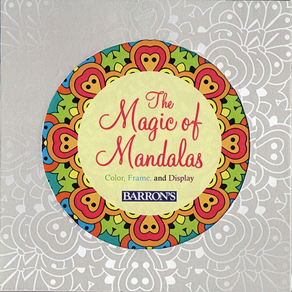 Amazon.com: The Magic of Mandalas: Color, Frame & Display (Color ...