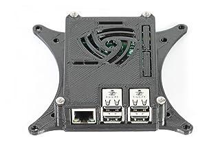 Raspberry Pi 2B + Funda con soporte de monitor TV VESA de 75mm y 100mm Negro 0110-m-p