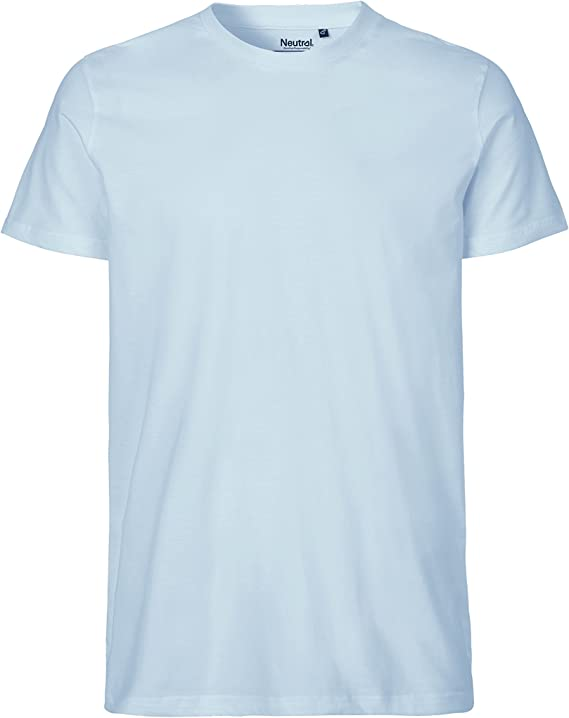 Camiseta azul claro de Amazon