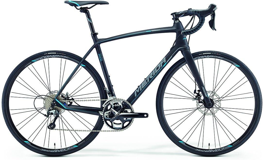 Merida Ride 3000 Disc 28 pulgadas bicicleta negro/azul (2016), tamaño 54: Amazon.es: Deportes y aire libre