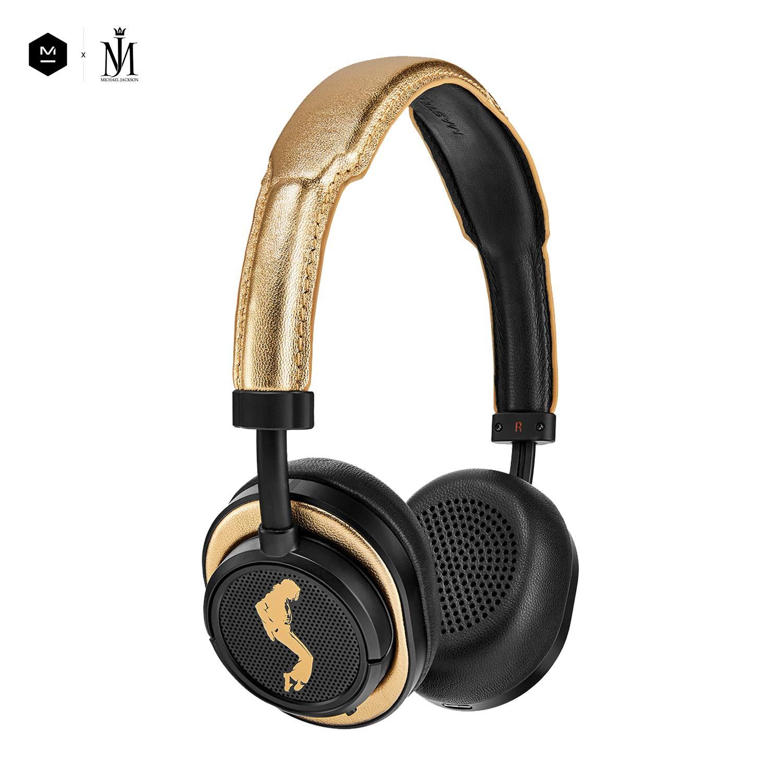 【70%OFF】 Master & B07GZRWVT2 Dynamic MW50+ Bluetooth ワイヤレス & Bluetooth 4.1 優れた音質と最高レベルのデザイン 40mm ベリウムドライバー プレミアムブラックレザー (ブラック/ゴールド) B07GZRWVT2, チバシ:c0b5ecb1 --- nicolasalvioli.com