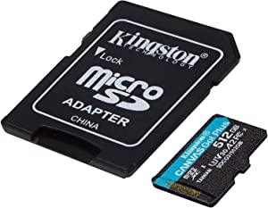 Kingston GO! Plus Works for Acer Iconia Tab A700 512GB MicroSDXC Canvas Card Verified by SanFlash. (170MBs Works with Kingston)