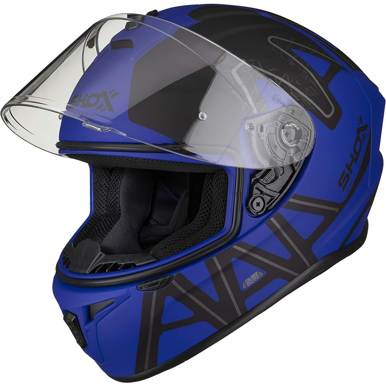 Shox Sniper Evo Caliber Motorcycle Helmet