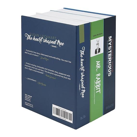 Buchsafe getarnte Geldkassette Attrappe aus 3 Büchern HMF Buchkassette XL