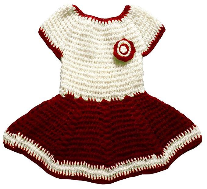 4c45b244664c Apna Showroom Baby Girls Wool Sweaters Skirts Frock Combo ...