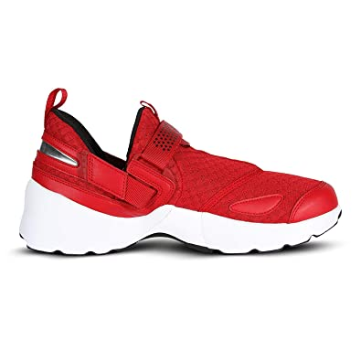 b98b8eb1875 Image Unavailable. Image not available for. Color  NIKE Jordan Trunner LX  OG Mens Running Shoes Gym Red Black White ...