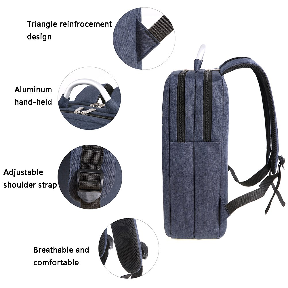 Amazon.com  SMUNIFUR Travel Laptop Backpack f66d48aaa1344