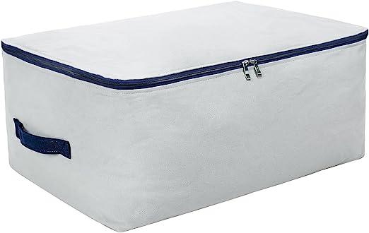 100% algodón natural, tamaño grande bolsa de almacenamiento suave ...