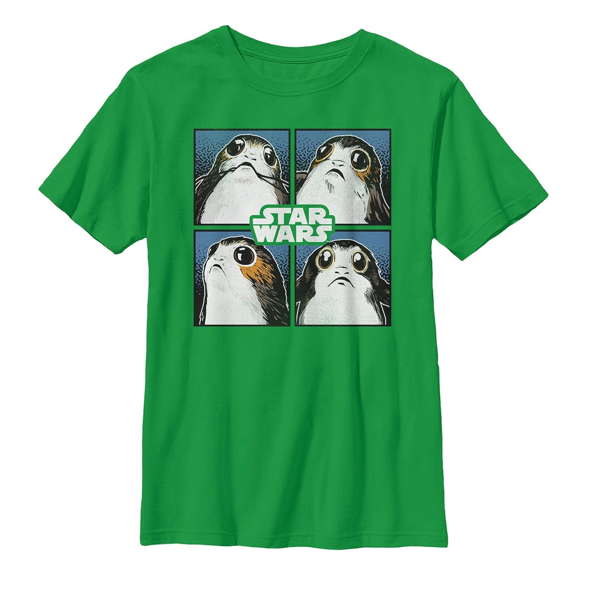 Star Wars The Last Jedi Porg Square Graphic T Shirt