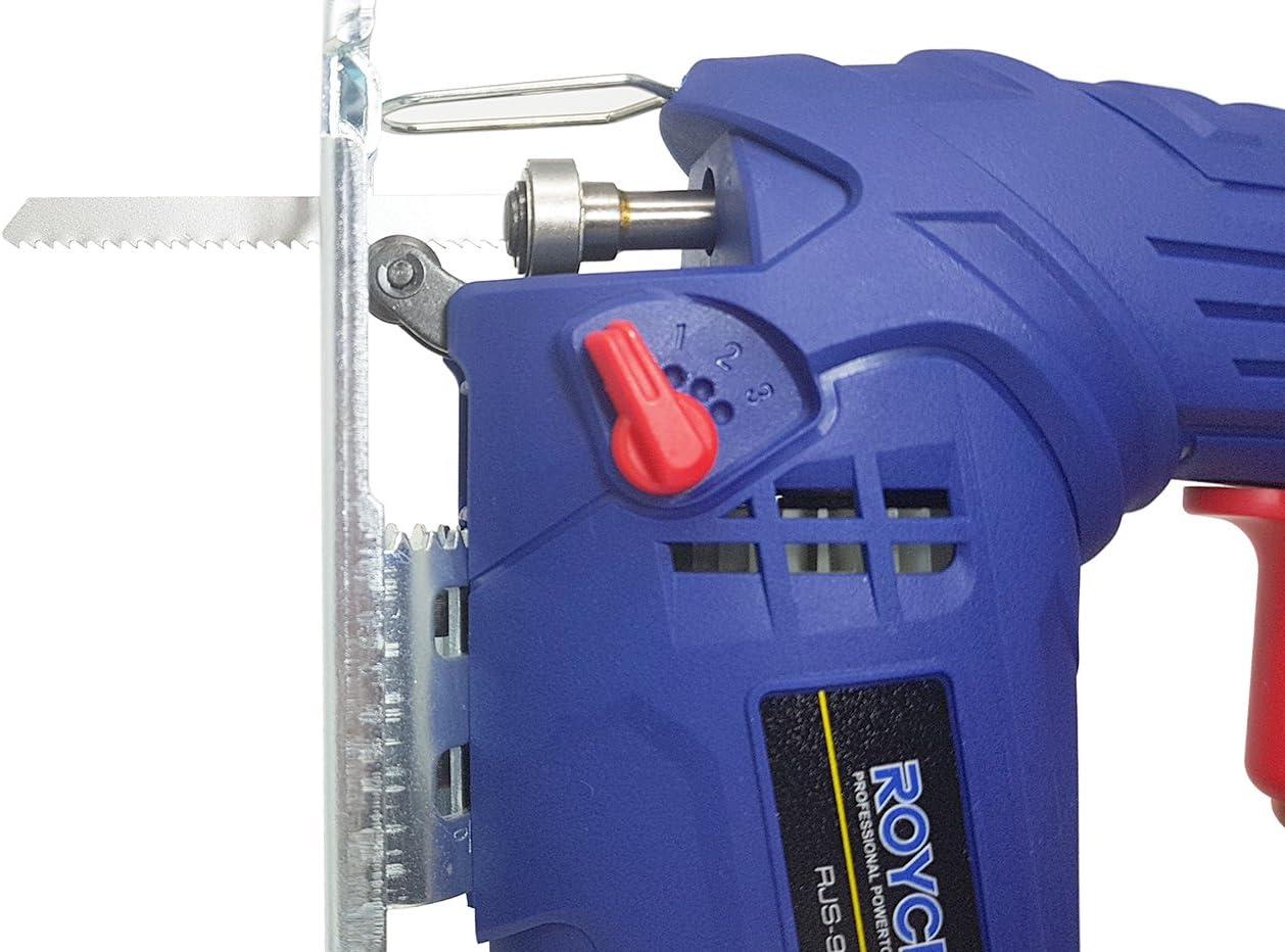 Seghetto alternativo 900w taglio 80MM plastica ferro regolazione RJS-900