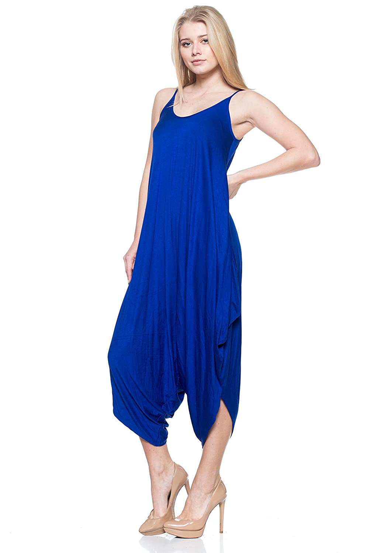 Cemi Ceri Womens Spaghetti Strap Oversized Jumpsuit