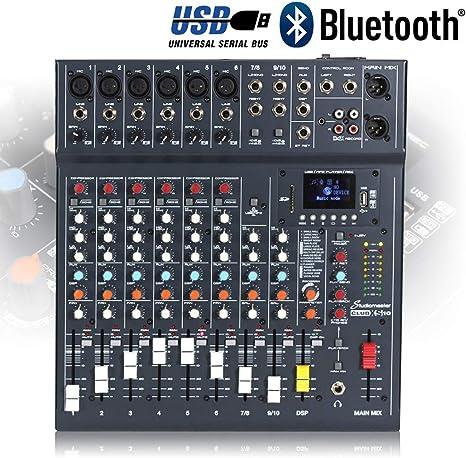 Studiomaster Club XS10 · Mesa de mezclas: Amazon.es: Instrumentos ...