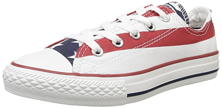 Converse Usa Flag Jr Low Vintage Sporting Low New.
