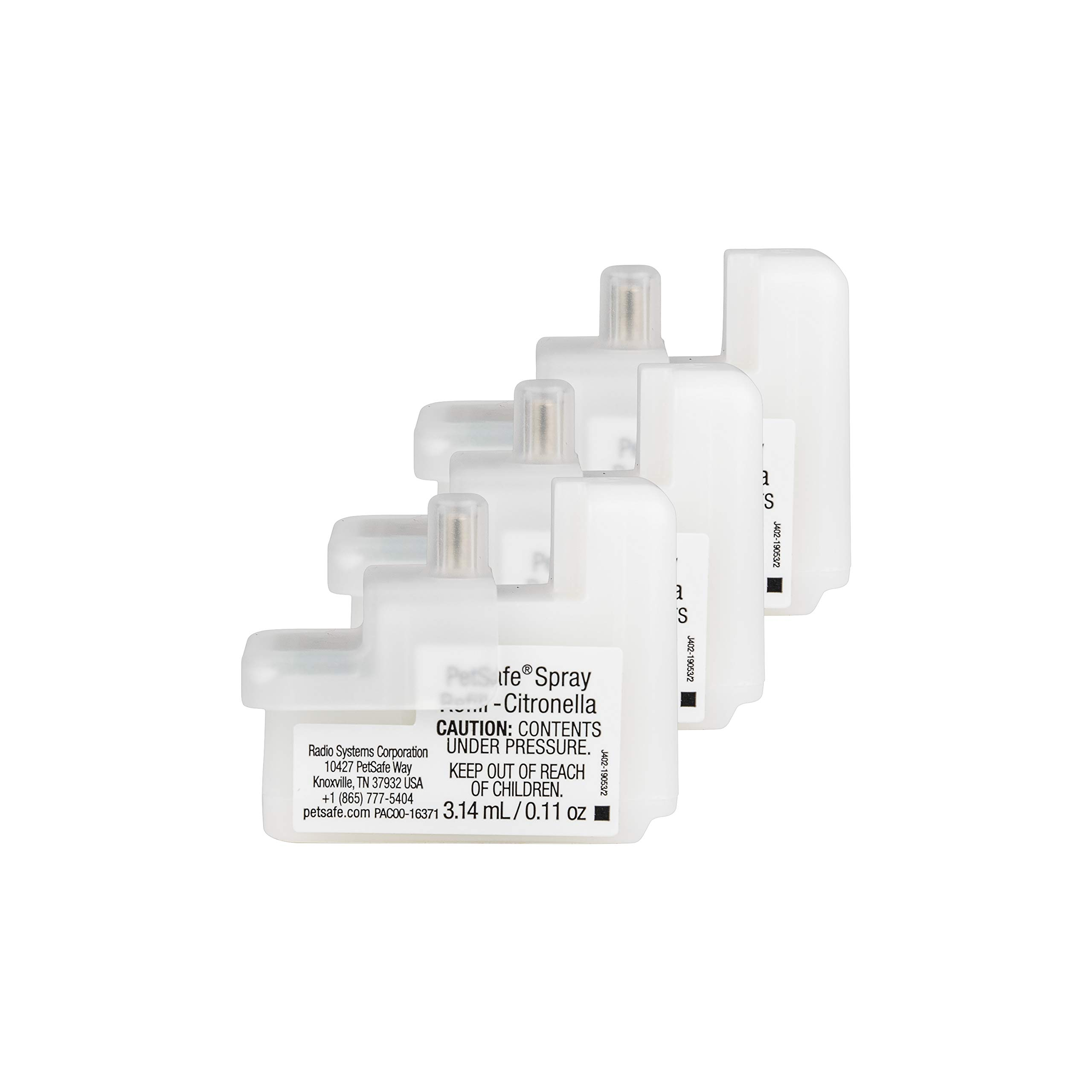 PetSafe Spray Bark Citronella Refill, Replacement Cartridges Spray Bark Collar, Refill Cartridge Only, Collar Not Included, 3-Pack