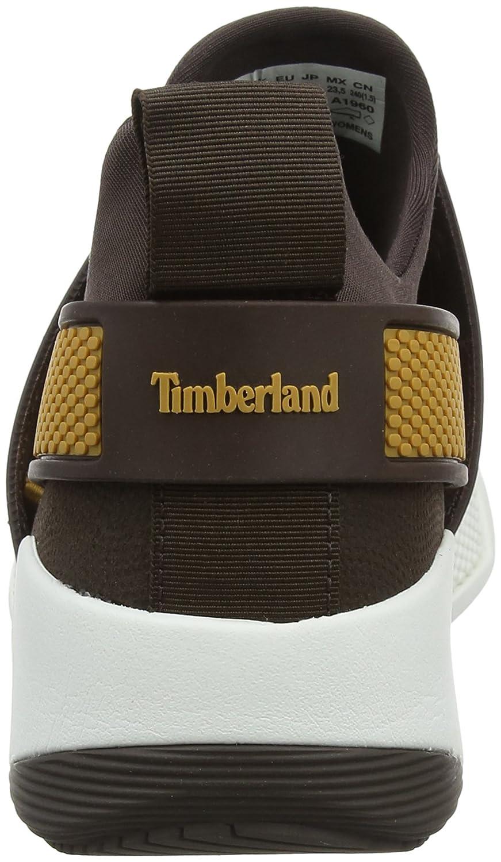 Timberland Kiri Up Knit, Zapatos de Cordones Oxford para Mujer, Gris (Mulch/Taupe Grey A66), 40 EU