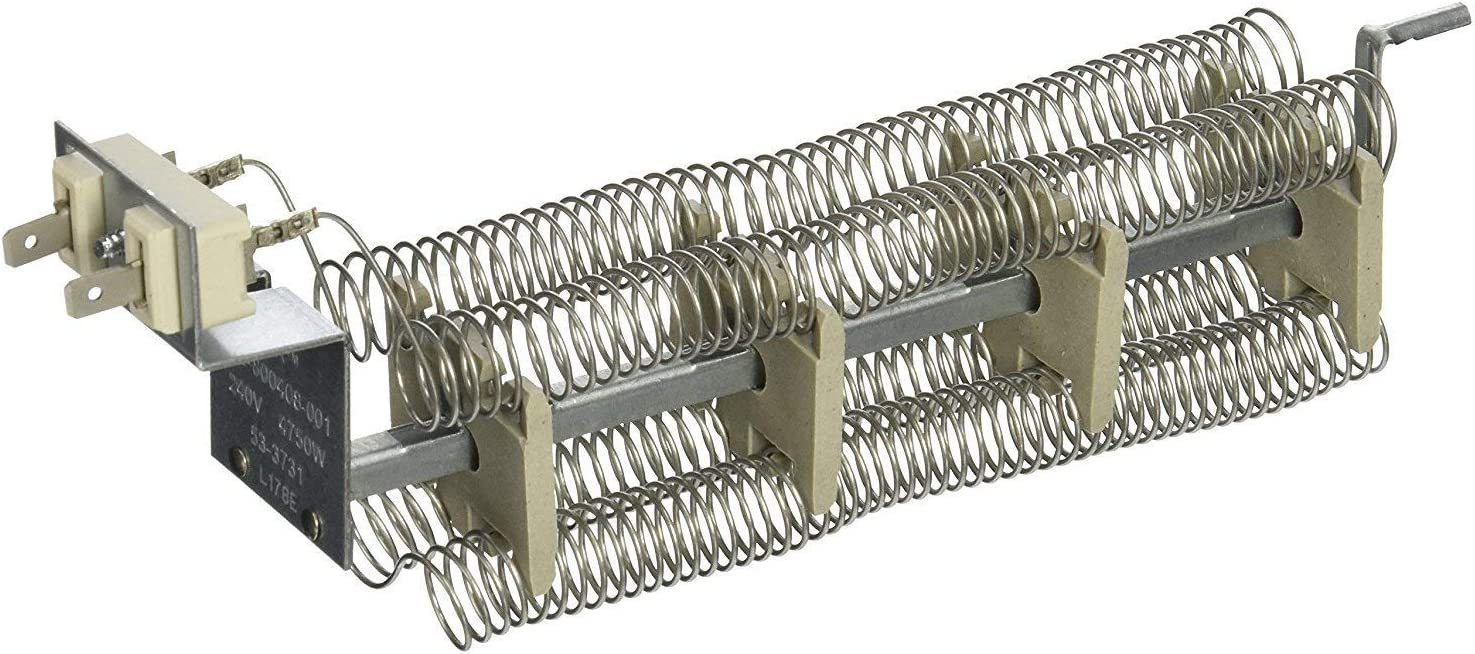 Compatible Heating Element for Maytag PYET444AYW, Admiral LNC7764A71, Maytag PYET244AYW Dryer