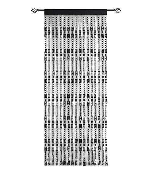 Amazon Hsylym Jacquard String Curtain Panels Plain Polyester