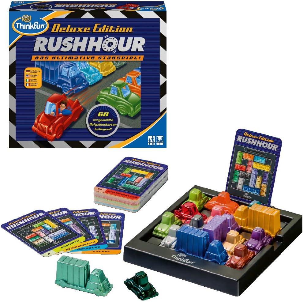 ThinkFun 76305 Rush Hour - Juego de lógica [Importado de Alemania]: Amazon.es: Juguetes y juegos
