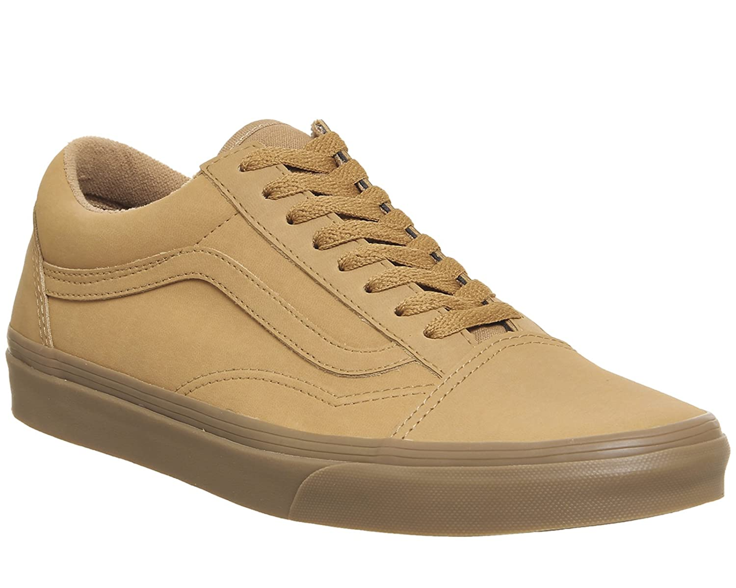 Vans Unisex Old Skool Classic Skate Shoes B01MXWJWFK 12 M US Women / 10.5 M US Men|Gum Mono