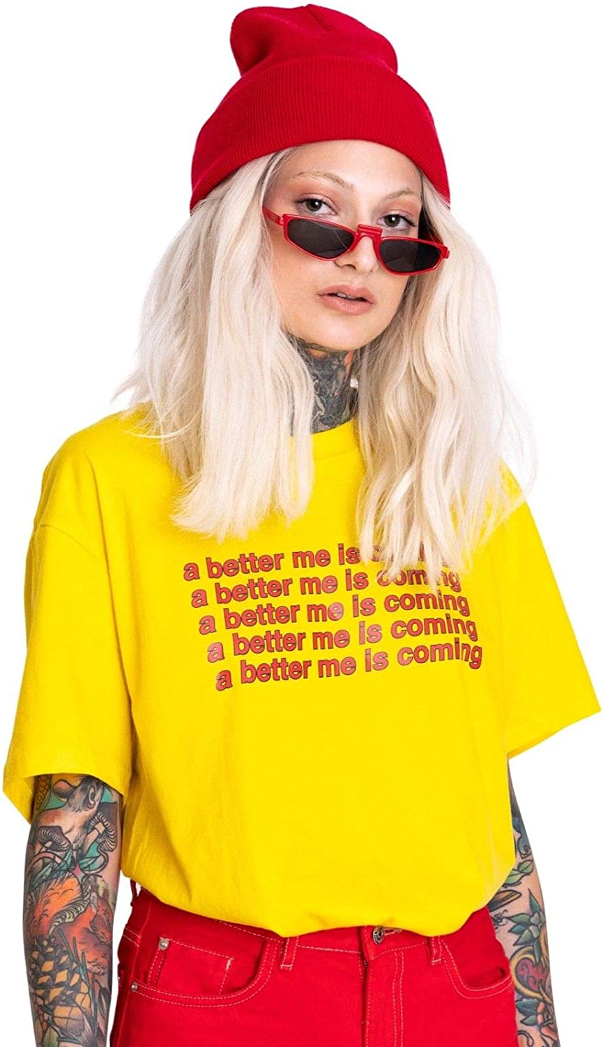 ITS BETTER IN NEW YORK TEE T SHIRT TOP WOMENS FUNNY HIPSTER FASHION S M L XL