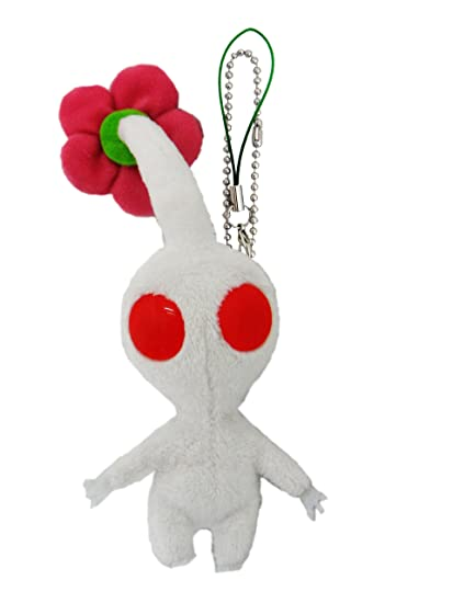 Amazon Sanei Pikmin Mascot Plush Strap 5 White Flower Toys