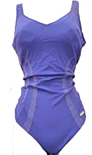 22 TRIUMPH POWERSHAPER HK634 SWIMMING COSTUME INDIGO MOULDED SUPPORT CUPS