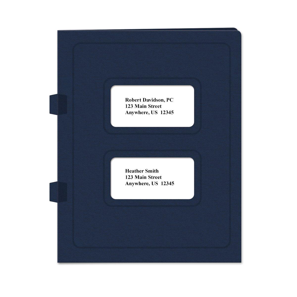 Tax Return Software Folder 50 Pack Side-Tabbed