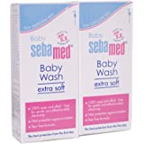 Sebamed Baby Wash Extra Soft 400ml, Pack of 2