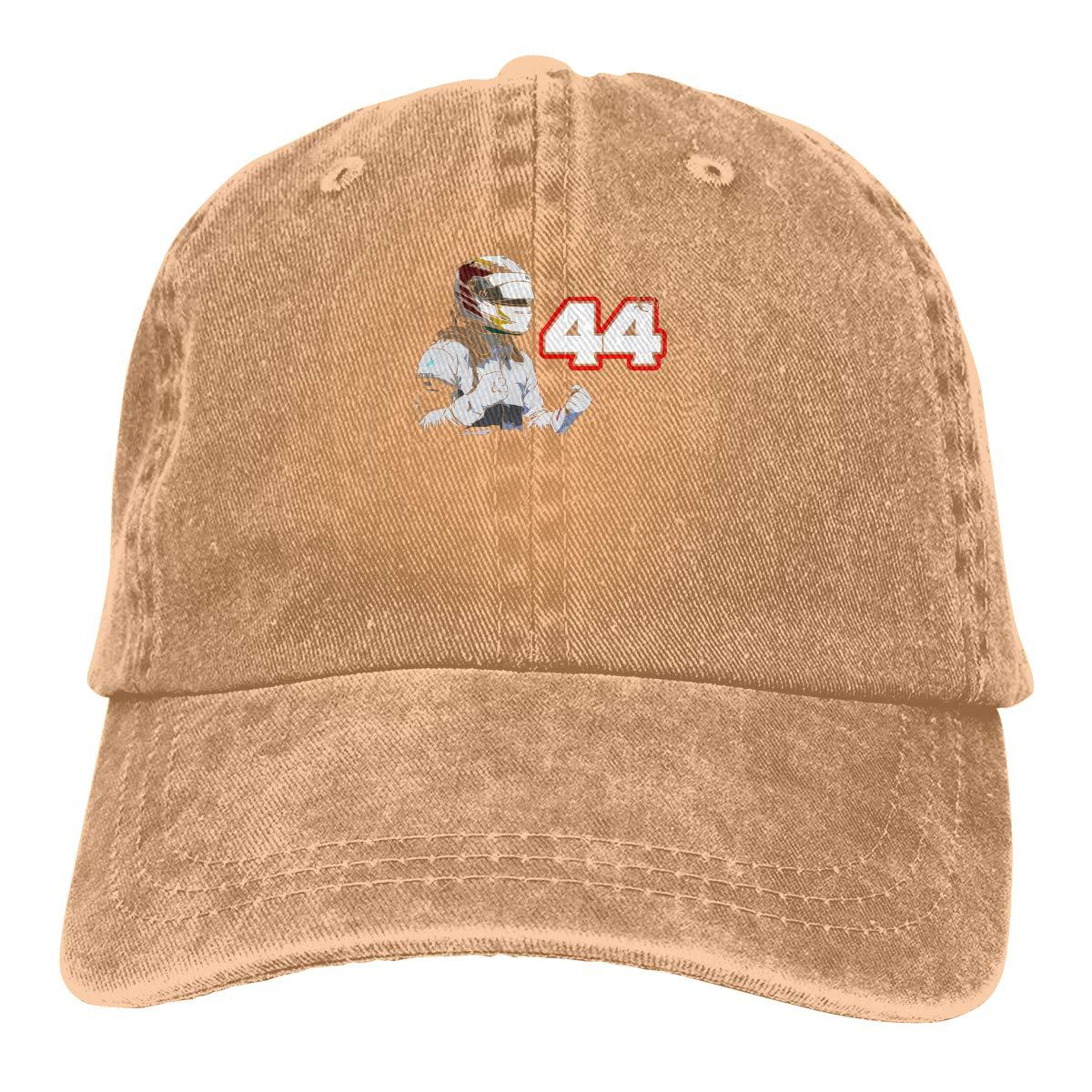 Feeling Unique Lewis Hamilton Still I Rise Vintage Jeans Baseball Cap Classic Cotton Dad Hat Adjustable Plain Cap Black
