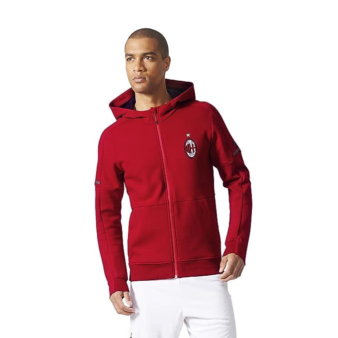 adidas ACM Anth Sqd AC Milan, Felpa Uomo: Amazon.it