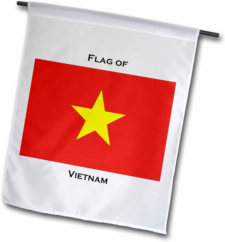 Amazon Com 3drose Fl 211419 1 Flag Of Vietnam Garden Flag 12 X 18 Garden Outdoor