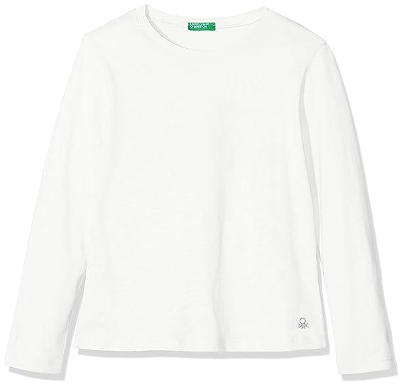 United Colors of Benetton T Shirt Pull sans Manche B/éb/é Fille